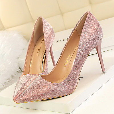 Womens Pink Shoes Heels