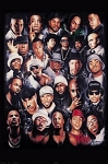 Rap Gods Hip Hop Gangster Wall Poster