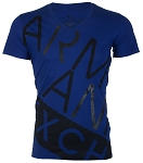 Mens Boys Armani Exchange Bias Slim Fit Casual Sports Hip Hop TShirt T-Shirt