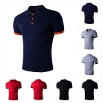 Mens Boys Slim Fit Casual Short Sleeve Hip Hop T-Shirt