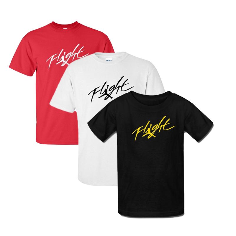 6fbf551b0be Mens Boys Michael Jordan Signature Flight Short Sleeve Sports Casual ...